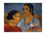 Italian Women Giclee Print by Christopher Wood