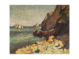 Sea and Rocks, Agay Posters by Maximilien Luce