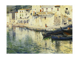 The Port of Cadaques Premium Giclee Print by Meifren y Roig Eliseo