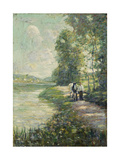 Along the Canal Prints by Ernest		 Lawson