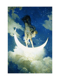 The Moon and the Stars Giclee Print by Edwin Howland		 Blashfield