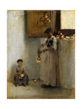 Stringing Onions Prints by Sargent John Singer