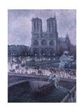 Notre Dame Prints by Maximilien Luce
