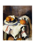A Still Life with Oranges Giclee Print by Masriera F.