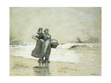 Blyth Sands Posters by Winslow Homer
