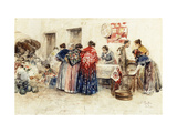 In the Market Giclee Print by Puig Roda Gabriel