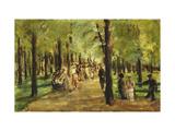 Walkers in the Tiergarten Posters par Max Liebermann