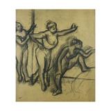 Three Dancers in Leotards Prints by Edgar Degas