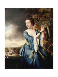 Portrait of Elizabeth, Mrs John Bostock Giclee Print by Joseph		 Wright of Derby