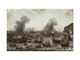 The Battle of Gibraltar, between the Dutch and Spanish Fleets, 25th April 1607 Prints by Adam		 Willaerts