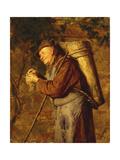 Monastic Produce Giclee Print by Eduard Grutzner