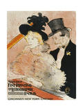 Au Concert Giclee Print by Henri de Toulouse-Lautrec