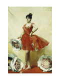 The Prima Ballerina Giclee Print by Leon Francois Comerre