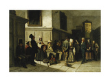 At the Police Station Giclee Print by Carl Henrik		 Unker