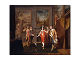 The King's Escape from Hampton Court Giclee Print by Pieter		 Angillis