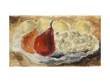 Shell, Dish and Fruit Giclee Print by Christopher		 Wood