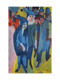 Street Scene Posters by Ernst Ludwig Kirchner