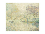 The Viaduct at Auteuil Print by Paul		 Signac