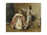 The Dance Giclee Print by Edouard		 Toudouze