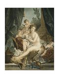 La Toilette de Venus Giclee Print by Jean-Francois Janinet