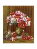 Anemones Posters by Pierre-Auguste Renoir