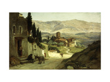 Near Perugia Prints by Elihu		 Vedder