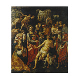 The Raising of Lazarus Giclee Print by Hendrik Clerck