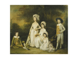 The Mordaunt Family Giclee Print by Lewis		 Vaslet