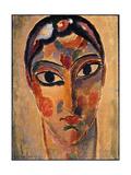 Mystical Head: Head Ascona Giclee-trykk av Alexej Von Jawlensky