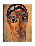 Mystical Head: Head Ascona Prints by Alexej Jawlensky