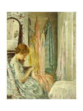 In her Boudoir Giclee Print by William Wallace Gilchrist