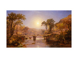 Indian Summer on the Delaware River Prints by Jasper Francis		 Cropsey