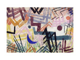 The Power of Play in a Lech landscape Print by Paul Klee
