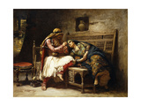 The Queen of the Brigands Prints by Frederick Arthur		 Bridgman