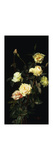 Roses Premium Giclee Print by George Cochran		 Lambdin