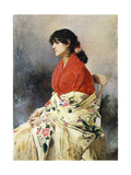 A Spanish Beauty Giclee Print by Emilio Sala		 Frances