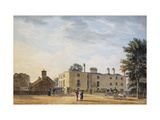 Figures Outside an Elegant Country House Prints by Thomas		 Malton II