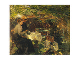 Tea in the Garden Giclee Print by Walter Frederick		 Osborne