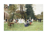 The Wedding, Fontainebleu Giclee Print by Charles Edouard		 Delort
