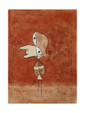 Portrait of Brigitte (Whole Figure) Print by Paul Klee