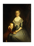 Portrait of Mrs Arbuckle and Son Giclee Print by Charles Willson		 Peale
