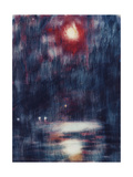 Moonlight on Lake Maggiore Giclee Print by Christian		 Rohlfs
