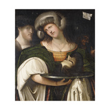 Judith with the Head of Holofernes Giclee Print by Francesco Ortensi Prato