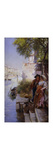 The Fisherman's Courtship Premium Giclee Print by Henry		 Woods