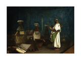 Prayer at the Sultan's Tomb Giclee Print by Jean Leon		 Gerome