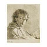 Portrait of the Artist Giclee Print by (attributed to) Anton Mengs