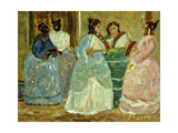 Colonial Scene Giclee Print by Pedro		 Figari