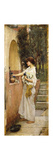 A Roman Offering Premium Giclee Print by John William Waterhouse