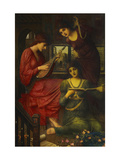 In the Golden Days Print by John Melhuish		 Strudwick