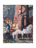Charleroi Art by Maximilien Luce